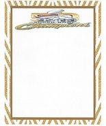 Denver Broncos Super Bowl Champions Stationery Printer Paper 26 Sheets - $11.87