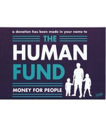 2020 Culturefly Seinfeld 4x6 The Human Fund Donation Card George Costanza - $9.49