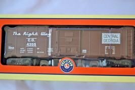 Lionel Train Georgia Power Boxcar The Right Way Central Georgia  6-25088 NIB - $41.99