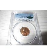 1972 ,Lincoln Cent , PCGS , MS64RB , CAC , Doubled Die Obverse - $589.05