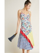 NWT ANTHROPOLOGIE COLLOQUIAL BIAS DRESS by 52 CONVERSATIONS S - $132.99
