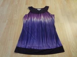 Women's Dressbarn S Purple Dress/Long Shirt - $15.88