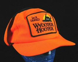 VTG Jack Daniels Wyooter Hooter Shooting Orange SnapBack Hat Hunter New ... - $19.99