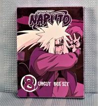 Naruto Uncut - Box Sets Vol. 8 (With Storyboard Booklet)   - $16.25