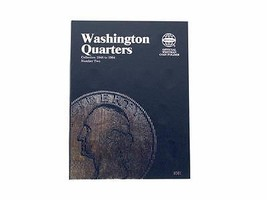 Washington Quarter # 2, 1948-1964 Coin Folder by Whitman - $5.99