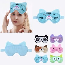 Hot Cold Face Eye Mask For Hot Or Cold Therapy, Microwave Travel Sleep E... - €10,99 EUR