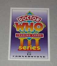 CHASE (PROMO): Doctor Who Series 3 C 1 - $1.25