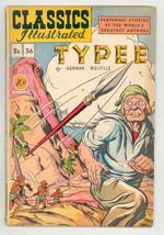 CLASSICS ILLUSTRATED #36 hrn 36 1947-TYPEE shrunken human heads VG/FN - $124.16