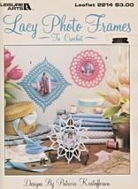 "Leisure Arts ""Lacy Photo Frames"" Thread Crochet - Gently Used - $4.00"