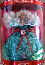 Barbie - Happy Holidays Special Edition Doll 1995 [Brand New] - $55.44
