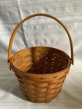 Longaberger Medium Fruit Basket Combo with Plastic Protector 2001 - $23.36