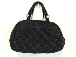 Vera Bradley Black Quilted Duffle Tote Bag  - $44.55