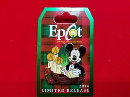 Disney Pin EPCOT Holidays Around the World 2016 Candlelight Processional LR - $28.00