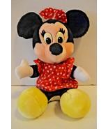 "Vintage Disney World Minnie Mouse Stuffed Plush Disneyland 14"" - $24.74"