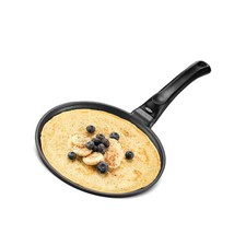 Black Induction Crepe Pan, With Pfoa Free Nonstick Coating   Induction P... - $71.99