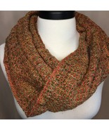 Handwoven Cowl from Red Rust Warp - $86.00