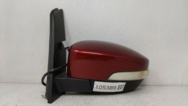 2013-2015 Ford C-max Driver Left Side View Power Door Mirror Red 105389 - $177.16