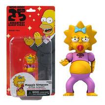 Maggie Simpson in Pink Jumpsuit mini figure The Simpsons NECA NIB NIP New in Box - $13.36