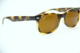 NEW RAY-BAN JUNIOR RB 9052S 152/3 TORTOISE SUNGLASSES AUTHENTIC FRAME RX... - $80.75