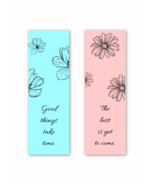 Floral bookmarks thumbtall