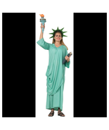 Statue Of Liberty Adult Halloween Costume - $48.91