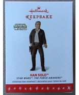 Hallmark 2016 Star Wars™: The Force Awakens™ Han Solo™ Ornament - MIB - $21.95