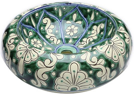 "Mexican Ceramic Bathroom Sink ""Boston"" - $260.00"