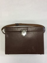 Vintage Polaroid Leather Carrying Cameria Hard ... - $29.65