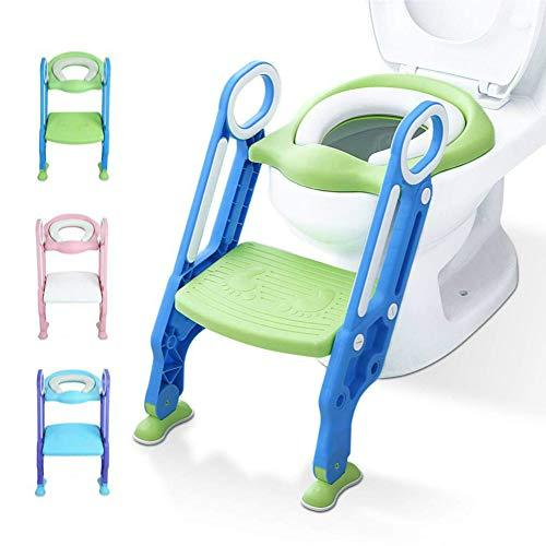 Potty Training Toilet Seat with Step Stool Ladder for Kids Children Baby Toddler