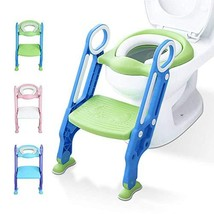 Potty Training Toilet Seat with Step Stool Ladder for Kids Children Baby... - $33.72