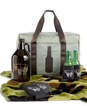 Tailgate Cooler Bag Gift Set 7 Pcs Olive Nylon Twelve NYC  - €30,66 EUR