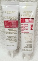 2 L'oreal Excellence Creme PRE-COLOR SERUM Protect Fragile Hair .34 oz/1... - $7.43