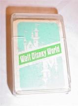 "Vintage 1970S Walt Disney World Miniature 2 1/2""x 1 1/2"" Souvenir Playing Cards - $28.70"