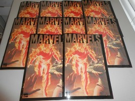 Lot of 10 1994 Marvels Book One A Time of Marvels Kurt Busiek Alex Ross  - $44.55