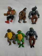 Vintage Lot Of 1988 Playmates Teenage Mutant Ninja turtles Action figure  6 - $24.00