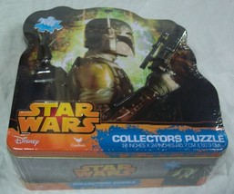 STAR WARS BOBA FETT 1000 Piece PUZZLE w/ COLLECTOR'S TIN NEW - $16.34