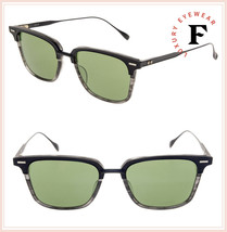 DITA OAK DRX2085 CT Matte Black Green Titanium Luxury Sunglasses 52mm Unisex - $346.50