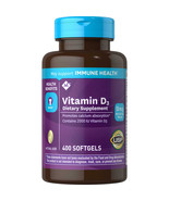 Member's Mark Vitamin D-3 2000 IU Dietary Supplement (400 ct.) - $13.71