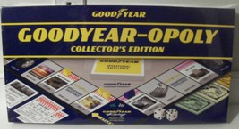 Goodyear-opoly Board Game Brand Name Wrapped Exclusive Collector Edition - $85.00