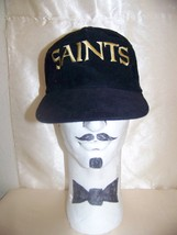 Vintage 1980's/90's Corduroy NFL SAINTS Snapback Cap/Hat by Starline  - $9.99