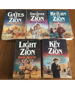 The Zion Chronicles Complete Set 1 2 3 4 5 Bodie Thoene Key Light Daught... - $22.76