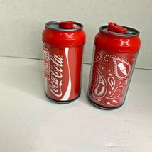 Coca Cola Spill Proof Double Wall Insulated Cup Can Twist Off Lot of 2 classic - $12.19
