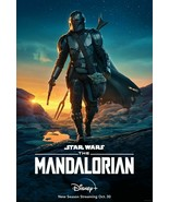 Season 2 Promo Poster Disney's TV Series The Mandalorian   13x19 inch po... - $13.85