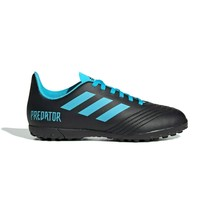 Youth Adidas Predator Tango 19.4 Turf  Soccer Shoes Black Size 4.5 G25826 - $28.04