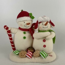 HALLMARK 2008 Seasons Treatings Plush Singing Snowmen Jingle Pals - $46.74