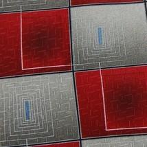ZYLOS GEORGE MACHADO USA Made RED Gray CHECKERED NECKTIE Ties Z1-481 New - $24.74