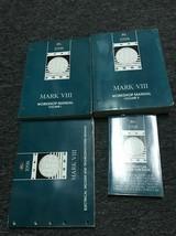 1998 Lincoln Mark VIII Service Shop Repair Workshop Manual Set W EVTM & ... - $237.55