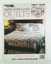 Leisure Arts Flying Geese Americas Best- Loved Quilts Chart Leaflet Template - $7.95