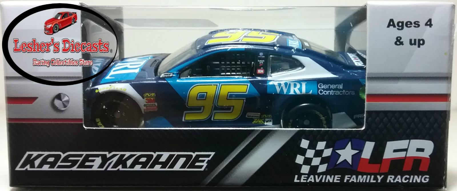 Kasey Kahne 2018 #95 WRL Construction ZL1 Camaro 1:64 ARC - NASCAR