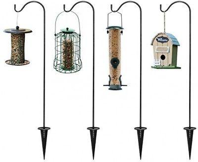 Ashman Shepherd's Hooks Pack Of 4 Extendable Shepherds Hooks For Hanging Bird - $35.57